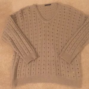 Brandy Melville V neck wool sweater, BNWOT